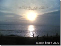PadangBeach Sunset