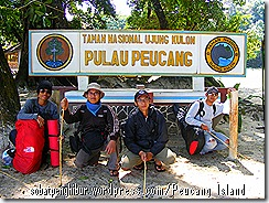 Welcome Peucang Island